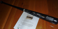 Milwaukee Brewers Ryan Braun Autographed Auto 07 NL ROY Inscribed RB PRO Model Black Baseball Bat Mikita Sports Hologram and COA