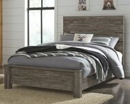 Cazenfeld Black/Gray Full Panel Bed