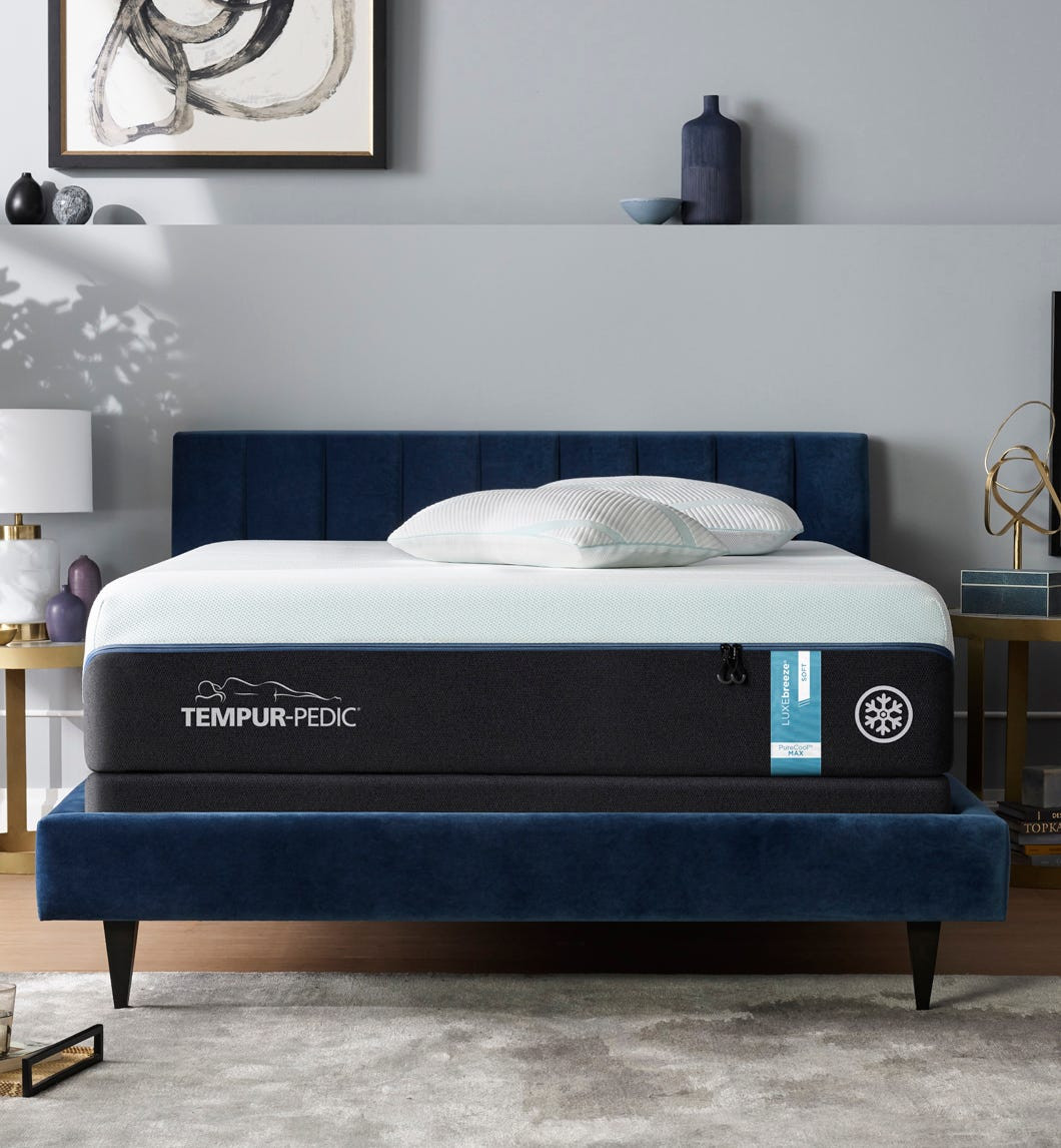 Picture of: The Tempur Luxbreeze 8cooler Soft Split King Available At Mattress Express By Woodstock Furniture Serving Meridian And Hattiesburg Ms And Surrounding Areas