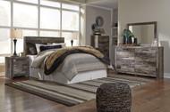 Derekson Multi Gray 6 Pc. Queen Panel Headboard, Dresser, Mirror, Chest & Nightstand
