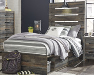 Drystan Multi Twin Panel Bed with Storage