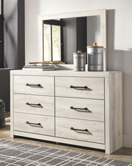 Cambeck Whitewash Dresser & Mirror
