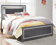 Lodanna Gray Full Panel Bed