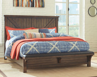 Lakeleigh Brown Queen Upholstered Bed
