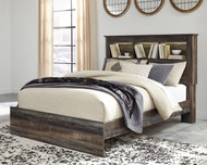 Drystan Multi Queen Bookcase Bed