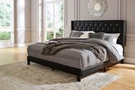 Vintasso Black King Upholstered HDBD/FTBD/Roll Slats