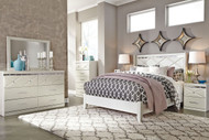 Dreamur 4 Pc. Dresser, Mirror & Queen Panel Bed
