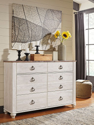 Willowton Two-tone Dresser