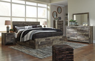 Derekson Multi Gray 7 Pc. King Bedroom Collection