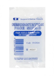 S+M® Resuscitation Face Shield Disposable Mask