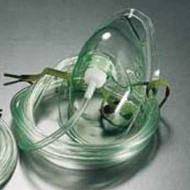 Mask Oxygen (Adult) with 2m Tubing (Pack of ten) - GaleMed brand.