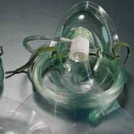 Mask Oxygen High-Concentration (Child) with Reservoir &  2m Tubing (Pack of ten) - GaleMed brand.