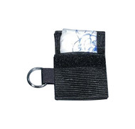 Face Shield with Filter in Keyring Pouch - BLS Systems brand.