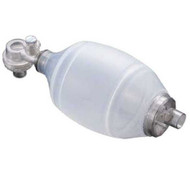 Resuscitator BVM Adult Disposable with No. 5 Mask (No Pop-Off) - Liberty brand.