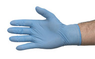 Examination Gloves, Nitrile -  box of 100 - powder free