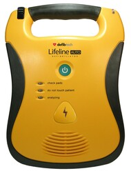 Defibtech Lifeline DDU-120 Fully-Auto External Defibrillator - 7 yr battery, 8 yr warranty