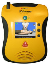 Defibtech Lifeline View Semi-Auto AED with LCD screen  External Defibrillator, 4 year battery,  8 yr warranty