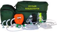 Oxygen Resuscitation Kit - Deluxe - Rescuer