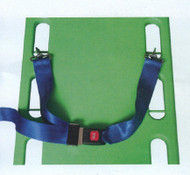 AZ-STW-03 Restraint Strap with metal buckle & Clips Colour shown Blue