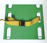 One Piece Strap Colour yellow shown 270cm Long