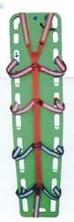 Spider Restraint Strap, Adjustable reflective stripe, Loop Ends (Hook & Loop) Strap Matching