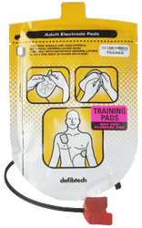 Defibtech Adult Training Pad Package (1 Set) (DF-DDP-101TR)