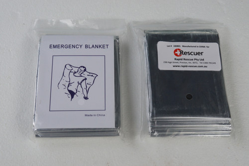 Space Blanket Silver- Silver