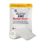 QuikClot EMS Rolled Gauze  MDM-QC-475  One Gauze Strip: 7.6cm x 1.22M