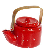 Small Teapot - Red