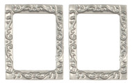 Rectangular Frames - Small and Silver