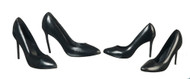 2 Pair of Lady' Shoes - Black