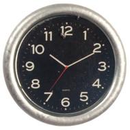Small Silver Clock