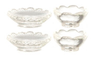 Plates and Bowls Set - Clear