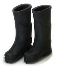 Dollhouse City - Dollhouse Miniatures Rubber Boots - Black