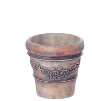 Victorian Pot -Large and Green
