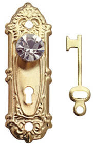 Dollhouse City - Dollhouse Miniatures Crystal Opryland Knob Set