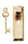 Doorknob with Key Plate Package