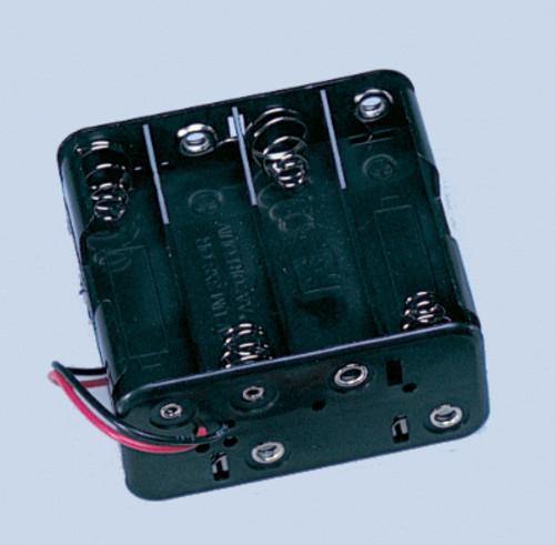 Dollhouse City - Dollhouse Miniatures AA Battery Holder - 8 Cell