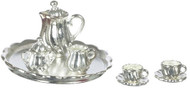 Coffee Set - Silver Plated