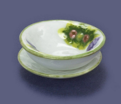 Bowl and Dish Set - Spring