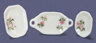 Serving Set - Pink and Green