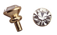 Dollhouse City - Dollhouse Miniatures Crystal Door Knob Set