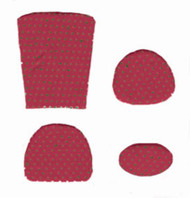 Cushion Kit and Red Mini Dots