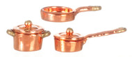 Casserole Set - Copper