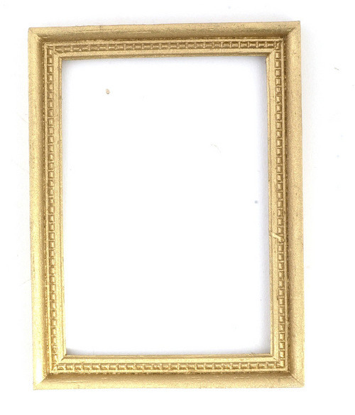 Dollhouse City - Dollhouse Miniatures Frame - Gold