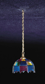 Hanging Tiffany Lamp - Non Electric