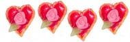 Dollhouse City - Dollhouse Miniatures Heart Tarts - Small and Assorted