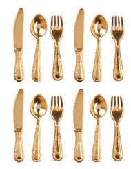 Flatware Set - Gold