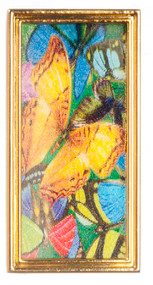 Butterflies Metal Frame - Gold