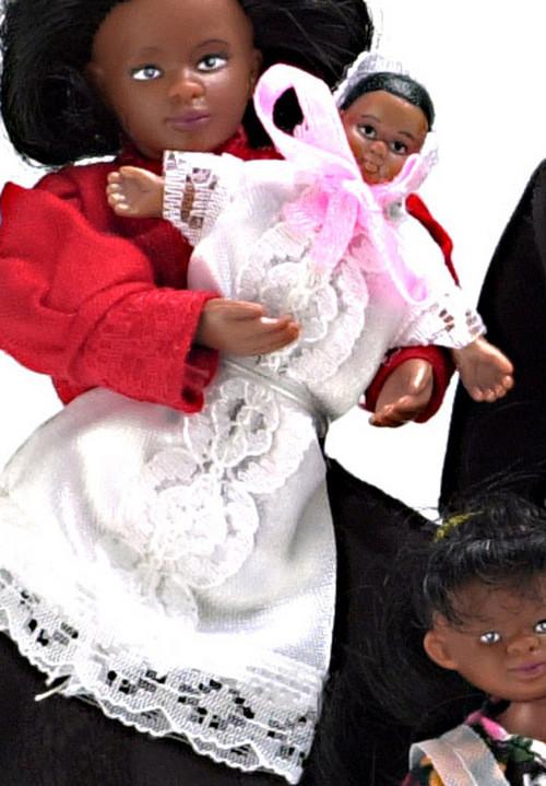 Victorian Babies Set - Black